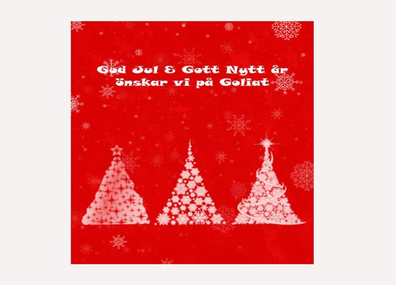 Julkort till företag design av trycksaker julkort från företag webbyrå i Stockholm Hjälp med hemsidan