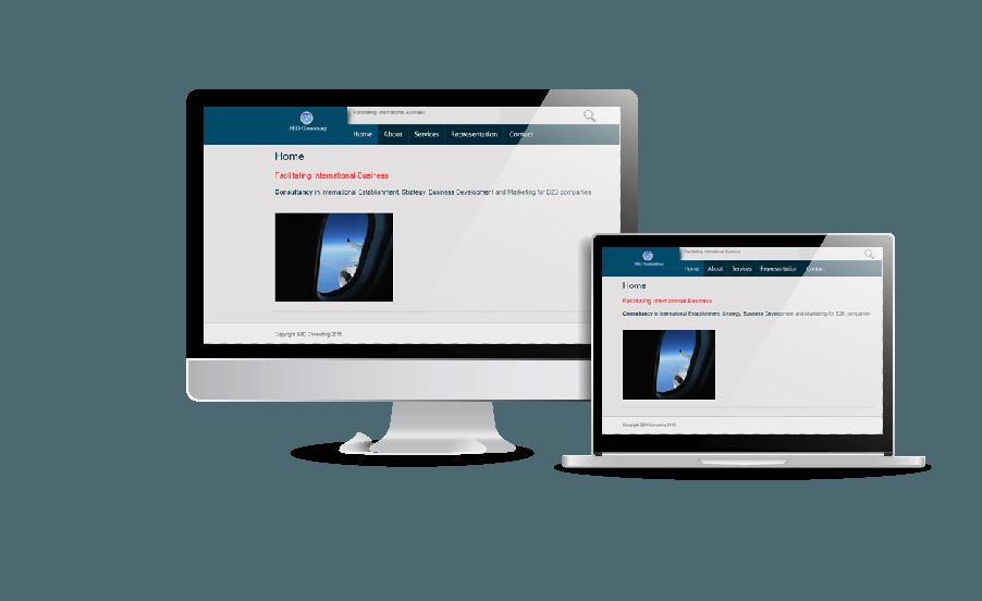 WordPress hemsida - webbdesign Snygga hemsidor SBD Consult Vaxholm Stockholm Galleri hemsidor Webbdesign av Hjälp med hemsidan