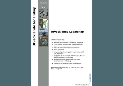 UL informationsblad design av Hjälp med hemsidan