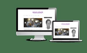 Snygg hemsida galleri 2018 Muskelhörnan Massage PT Hemsida webbyrån Hjälp med hemsidan