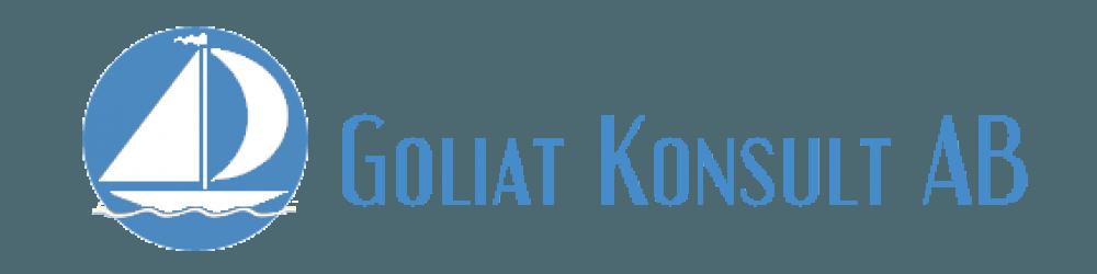 Logotyp till ledarskapsutvecklare Goliat design av logga Hjälp med hemsidan Rund logotyp