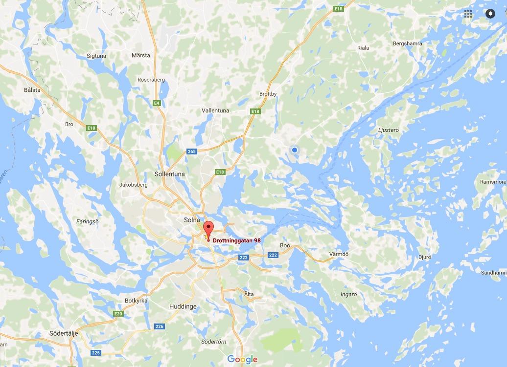En vanlig karta är statisk till skillnad från Google Maps