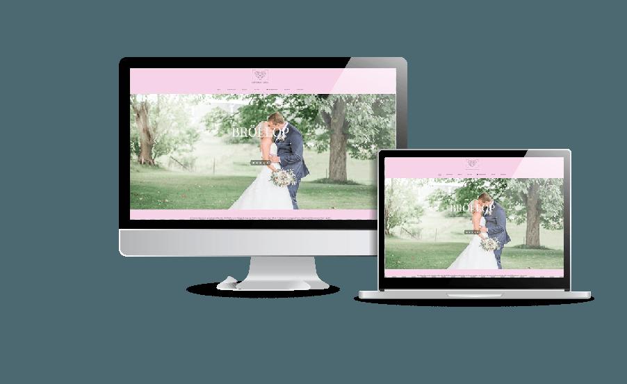 Snygga moderna hemsidor 2018 Hemsida fotograf Linda webbdesign Hjälp med hemsidan Åkersberga Stockholm