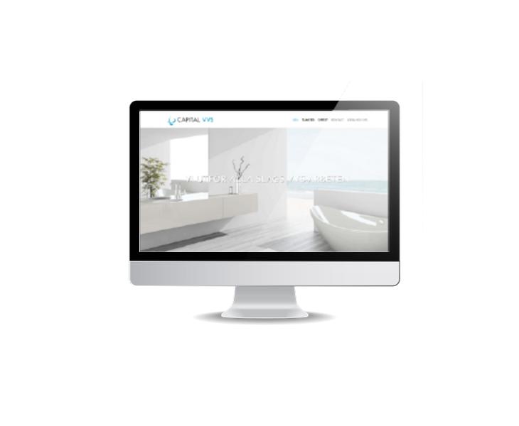 webbsida till vvs-företag