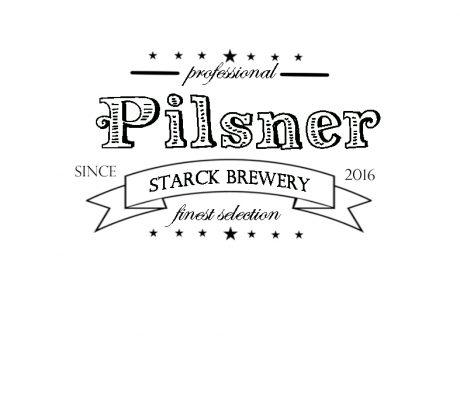 Pilsner öletikett bryggeri Hjälp att ta fram snygga trycksaker