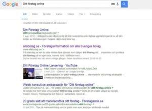 Bli hittad på Google Sökmotoroptimering SEO Se till att du är Googlebar
