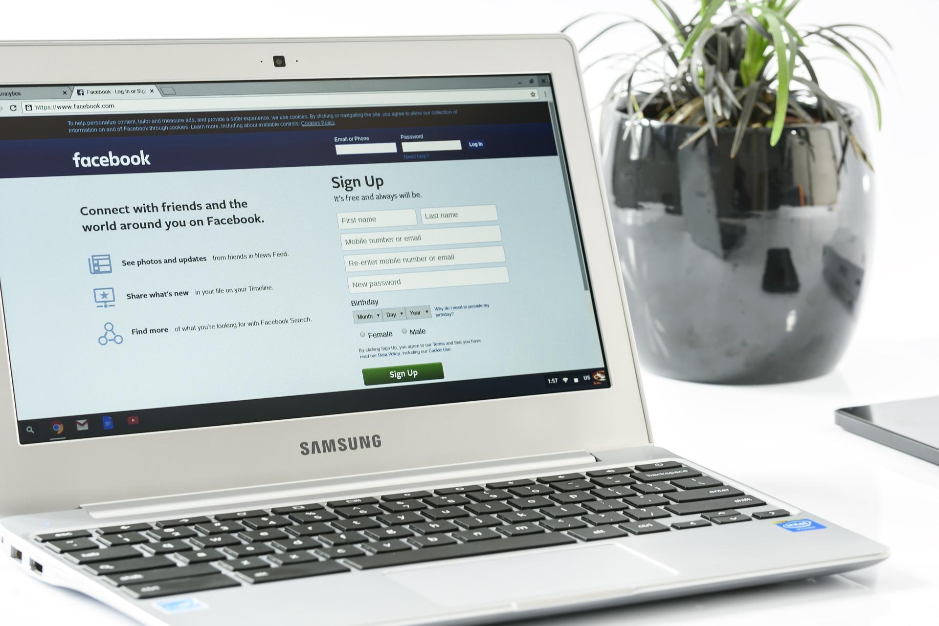 facebooksida till företaget