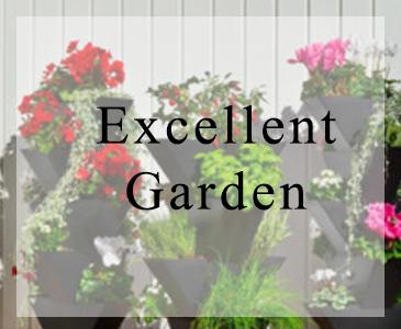 Excellent garden