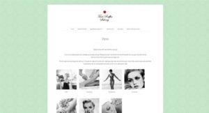 Snygga webbsidor Galleri med hemsidor HEMSIDA FÖRETAG STOCKHOLM snygga hemsidor 2017 Webbdesign Stockholm - Annika Vallgren Hjälp med hemsidan