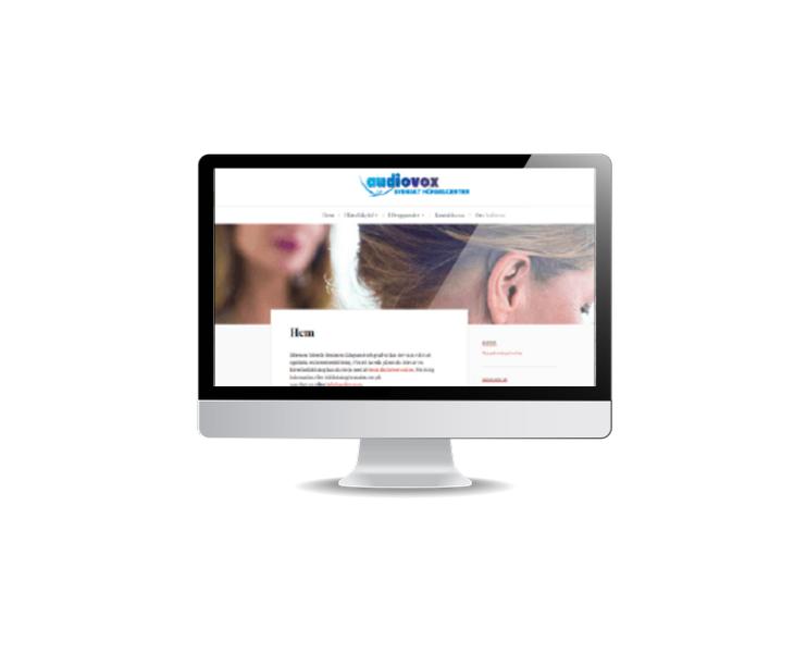 hemsida för hörselhjälpmedel
