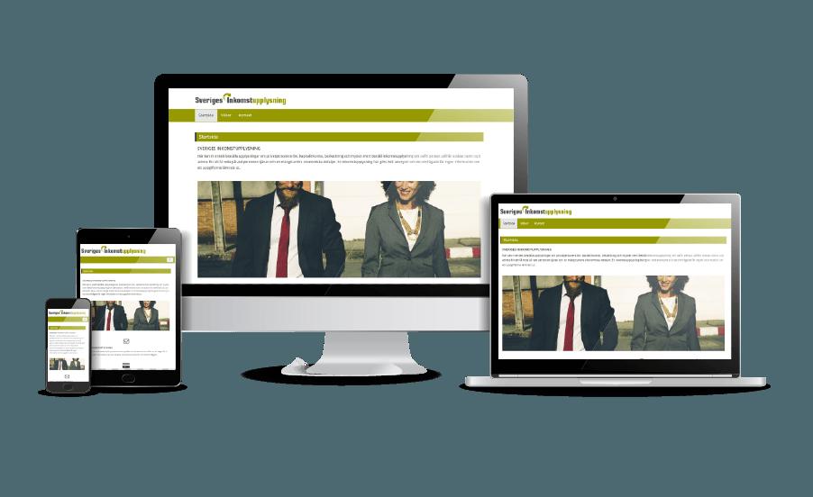 Fina webbsidor design Kreditupplysnings hemsida Webbdesigner Hjälp med hemsidan Stockholm och Åkersberga