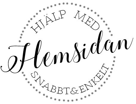 Logotyp hjälp med hemsidan