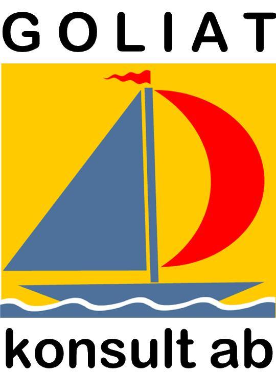 Logotyp ledarskapsutvecklare Goliat design av logga