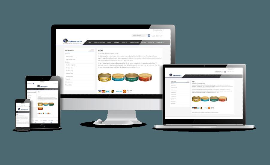 Snygg webbsida design 2018 Galleri Online snus hemsida Webbdesign Hjälp med hemsidan en webbyrå i Stockholm och Åkersberga