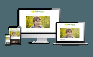 Snygga webbsidor design 2018 Galleri Hemsida Förskola solöga Webbdesign Hjälp med hemsidan en webbyrå i Stockholm och Åkersberga