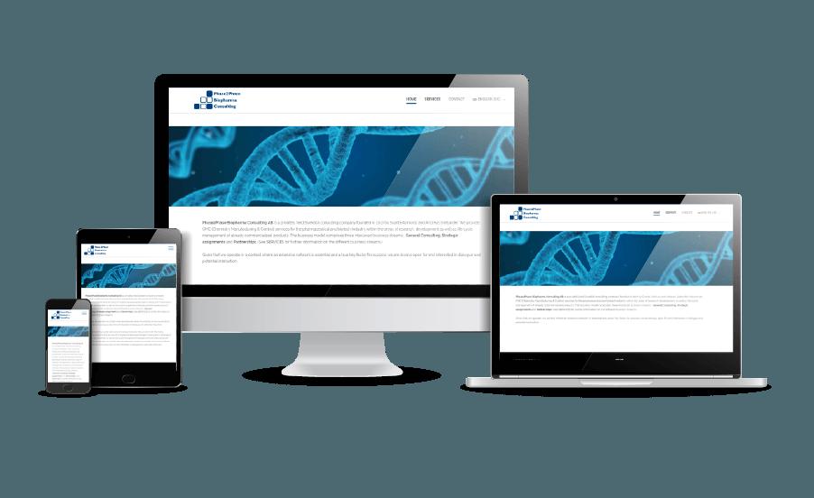 Snyggaste webbsidorna 2018 Modern design Phase2Pahase Webbdesigner hjälp med hemsidans webbyrå