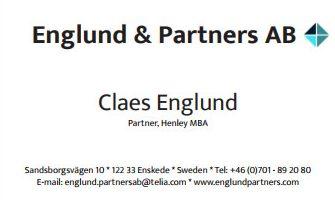 Visitkort Englund och Partners