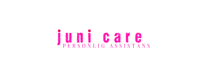 Logo som matchar hemsidan Juni Care i Umeå personlig assistans ny logotyp