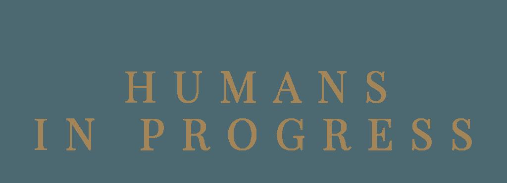Logga Humans in progress av designer Hjälp med hemsidan