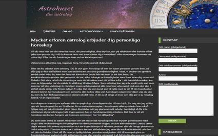 Snygg hemsida exempel och inspiration Snygga hemsidor 2018 Webbyrå i Stockholm Hjälp med hemsidan har gjort Astrohusets hemsida snygga hemsidor 2017