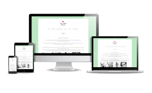 Snygg webbdesign exempel Galeri 2018 Snygga hemsidor Tant Raffas Salong Stockholm Design Webbyrån Hjälp med hemsidan