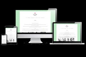 Snygga webbsidor till skönhetssalong - duktig webbdesigner
