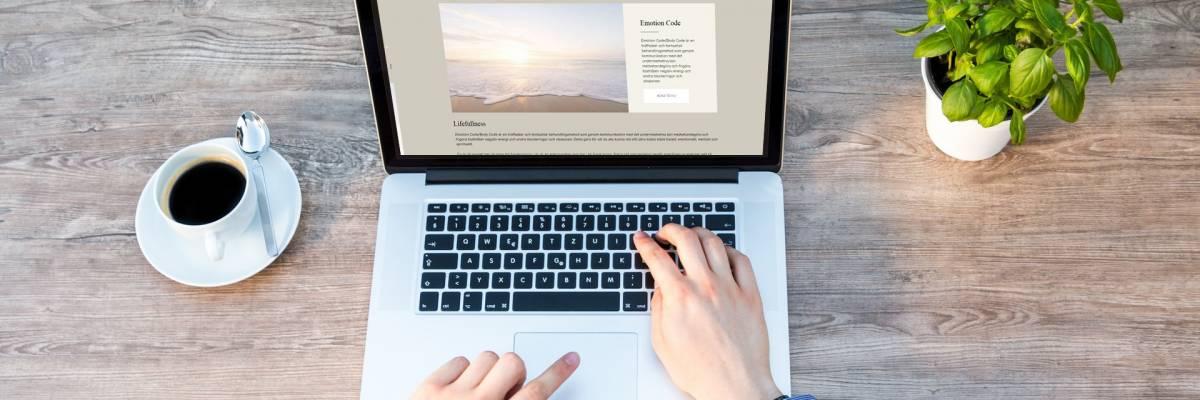 Företagshemsida i WordPress