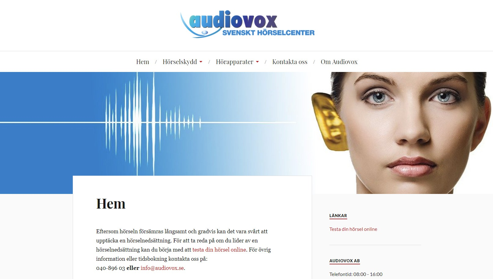 Snygg hemsida exempel och inspiration Snygga hemsidor 2018 audiovox