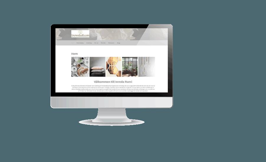 Inreda rum - Snygga hemsidor gjorda av webbyrån Hjälp med hemsidan