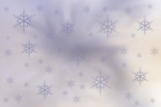 Snöfall på hemsidan
