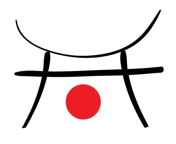Japanskt tecken i logotypen Ashiwa i Stockholm