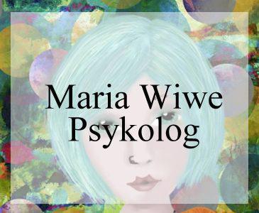 Maria Wiwe Hemsida till psykolog