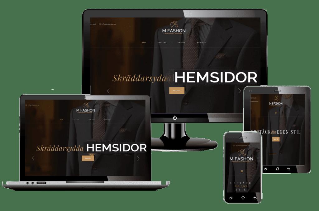 WordPress hemsida - webbdesign SKRÄDDARSYDDA HEMSIDOR billigt hos Webbyrån Hjälp med hemsidan