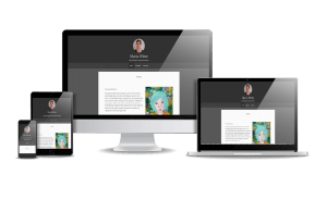 Snygga hemsidor 2018 responsiv hemsida exempel Maria Wiwe Psykolog Stockholm.ai