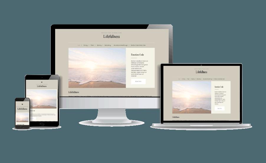 Billig webbyrå i Stockholm Lifefullness