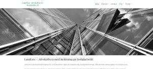 LandLaw advokatbyrå fastighetsrätt snygg hemsida 2018