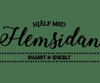 Hjälp med hemsidan logotyp