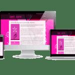 Företagshemsida snygga hemsidor gjorda i WordPress Juni Care personlig assistans i Stockholm - stolt webbdesigner Hjälp med hemsidan