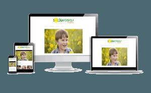 Snygga företagshemsidor gjorda i WordPress Företagshemsida Solöga förskola