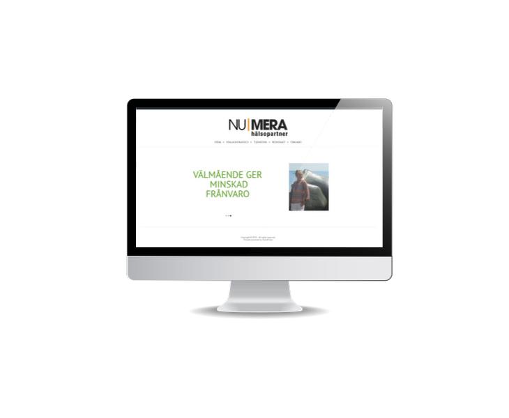 hemsida till hälsocoach