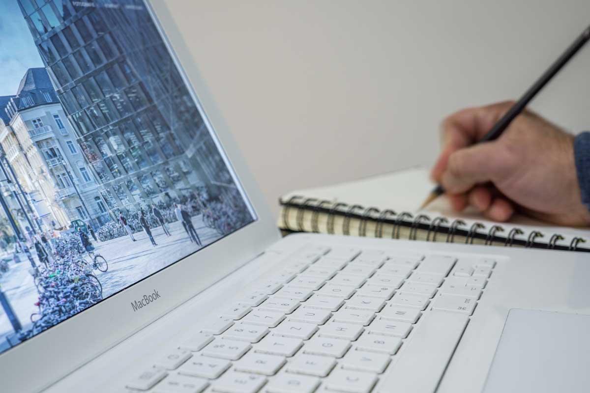 Skaffa en ny webbsida som du älskar