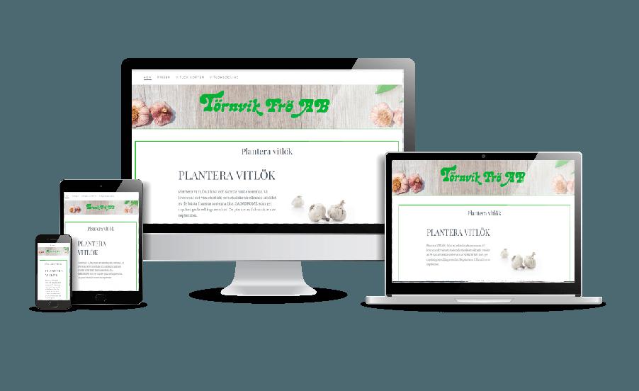 WordPress hemsida - webbdesign Snygga webbsidor av en duktig webbdesigner. Hos Hjälp med hemsidan hemsida. Hemsida till grossist av vitlök Törnvik Frö. Snygga hemsidor 2018. Galleri med hemsidor som är responsiva. Webbdesigner Hjälp med hemsidan