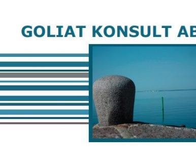 Goliat broschyr