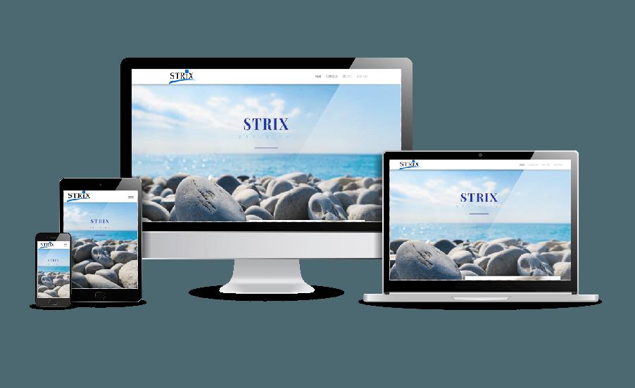 hemsida till redovisningskonsult Snygga hemsidor 2018 galleri med hemsidor som är responsiva Hemsida till revisionsbyrå Strix revision webbdesigner Hjälp med hemsidan