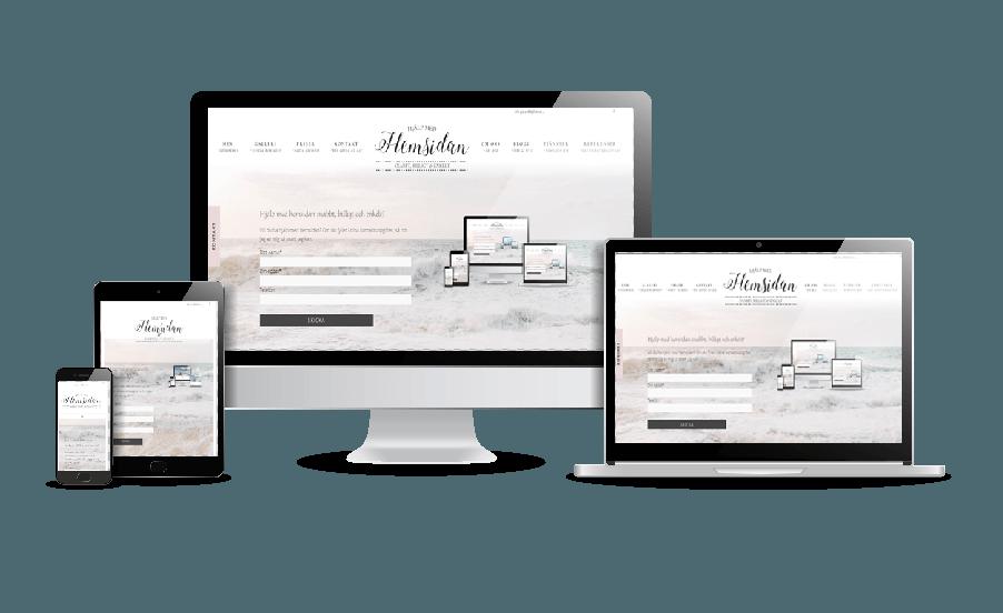 Välj mellan många snygga teman i WordPress