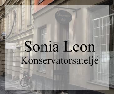 Snygg hemsida till konservator Webbdesigner Hjälp med hemsidan i Stockholm och Åkersberga Galleri med hemsidor