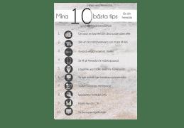 Infographics för tips