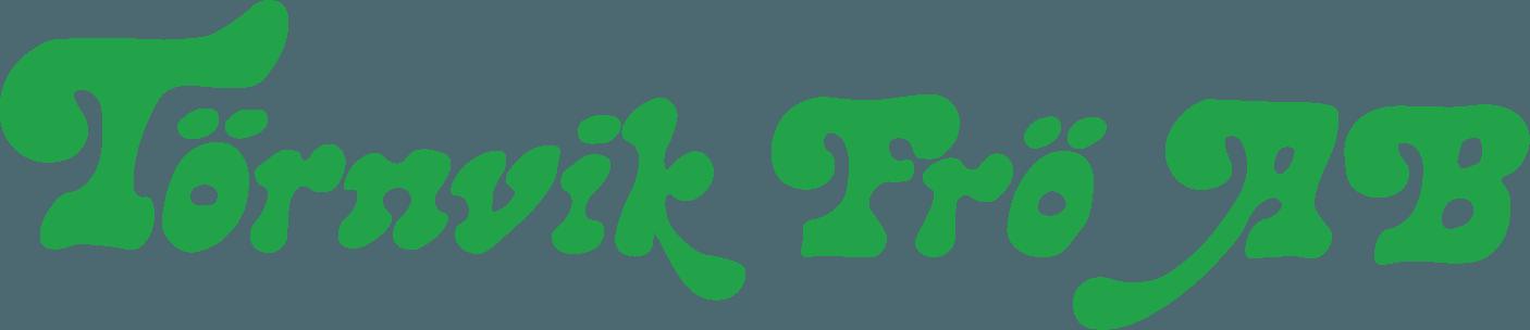 Snygga loggor Törnvik frö logotyp