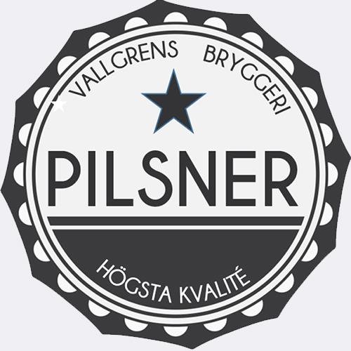 pilsneretiketter mall skriv ut på egen skrivare tvåfärgad stjärna Pilsner