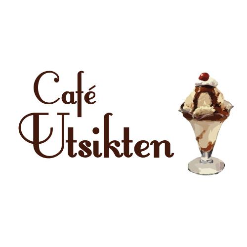 Billig logotyp till Café